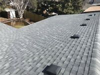Starting at 190 a square on re-roofs  . Repairs starting at 80