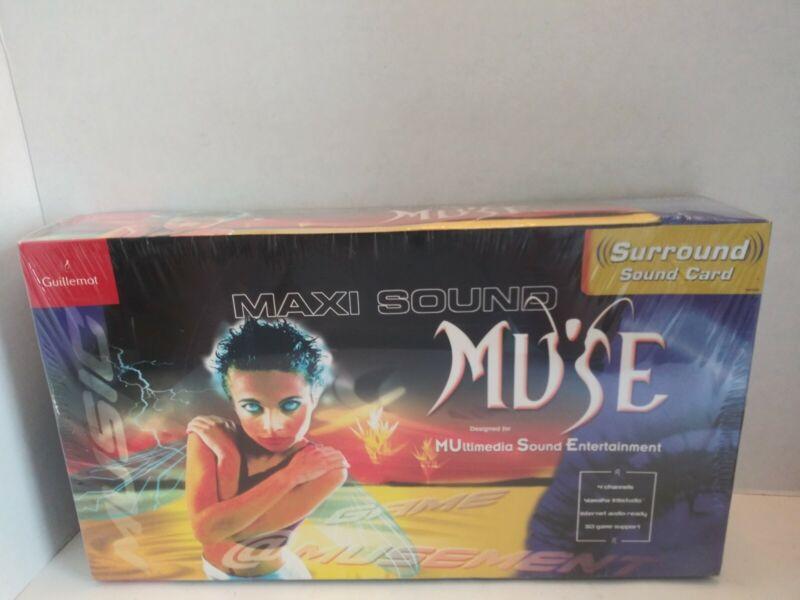 Guillemot Maxi Sound  Muse PCI Surround Sound Card 4 Channels NOS SEALED