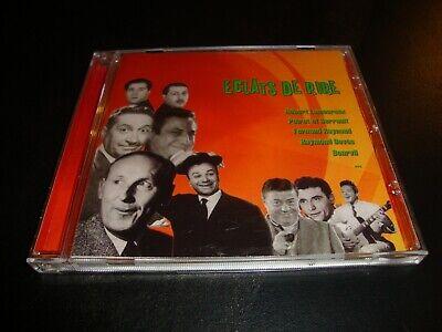 ECLATS DE RIRE : Various CD Pierre Dac Bourvil Champi Jean Richard Roger Nicolas