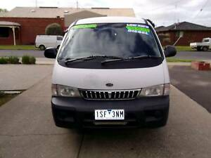 2003 Kia Pregio Manual Van/Minivan DIESEL Bacchus Marsh Moorabool Area Preview