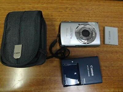 Canon PowerShot Digital SD870 IS 8.0MP Digital Camera w/ battery,charger & case