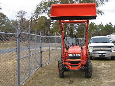 Kubota 3800 Diesel Tractor W 5ft Kodiak Brushog