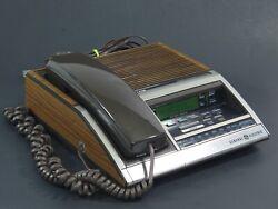 Vintage General Electric Phone Alarm Clock AM FM Radio Model 7- 4700