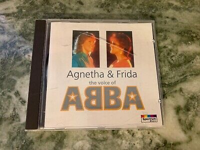 Agnetha  &  Frida  – The Voice Of ABBA   Germany CD Spectrum / Polydor