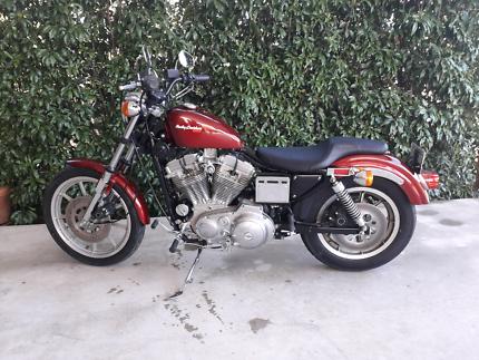 Harley davidson sportster 883 gumtree australia free local 1987 harley davidson sportster fandeluxe Images