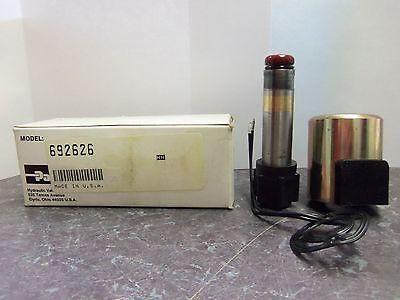 New Parker Solenoid Valve Hydraulic 692626 120vdc Nib