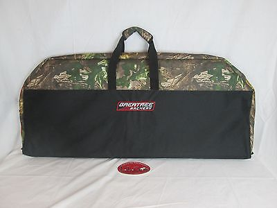 Greatree 42 in. Padded compound bow case soft black & -