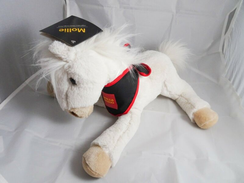 "Wells Fargo Legendary Pony Mollie 14"" Stuffed Horse Plush Stuffed Animal w/ Tags"