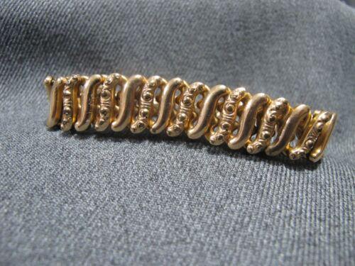 Antique The D.F.B. Co Carmen Patented gold filled expandable bracelet for repair