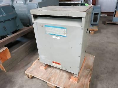 Ge 34 Kva 460 Delta To 460y266 9t23b4003g22 3ph Isolation Transformer 460 Y