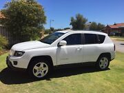 2014 Jeep Compass MK MY14 North White 6 Speed Sports Automatic Rockingham Rockingham Area Preview