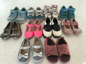Girls shoe lot- size 7,8,9