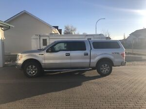 2011 Ford F150 XTR Supercrew 5.5ft box with matching cap