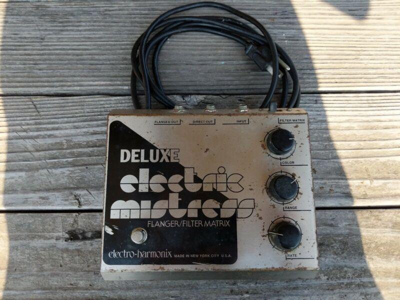 Vintage 1999 Electro-Harmonix Deluxe Electric Mistress Flanger Guitar Pedal