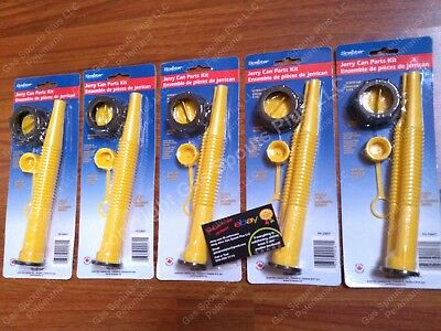 5-pk Scepter Gas Can Spouts Vent Kit Moeller Midwest American Igloo Eagle Reda