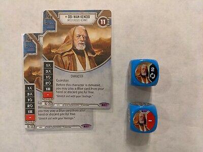 Obi-Wan Kenobi #37 Star Wars Destiny Spirit of the Rebellion Legendary w/ (Star Wars Destiny Spirit Of The Rebellion)