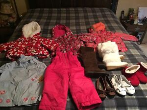 Girl clothing and winter wear