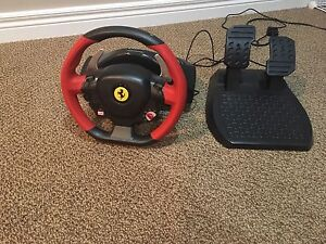 Ferrari gaming wheel for any xbox console