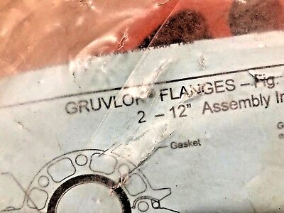 Gruvlok Coupling Flange 2 7012 New In Package 390201101 Sa4 Free Expedited
