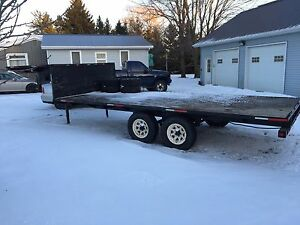 17ft gooseneck trailer