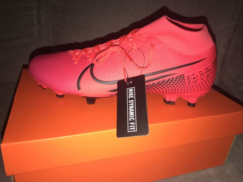 NIKE MERCURIAL SUPERFLY 7 ACADEMY FG/MG SOCCER CLEATS SIZE US 10.5 AT7946-606