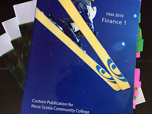 NSCC 2nd year Finance 1 Textbook!
