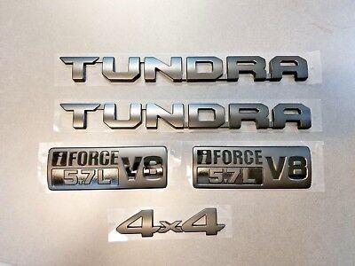 2010-2018 Toyota Tundra New TRD-PRO Factory Black Enblem Kit