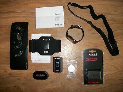 Polar RCX3M Running Watch GPS Heart Monitor Black