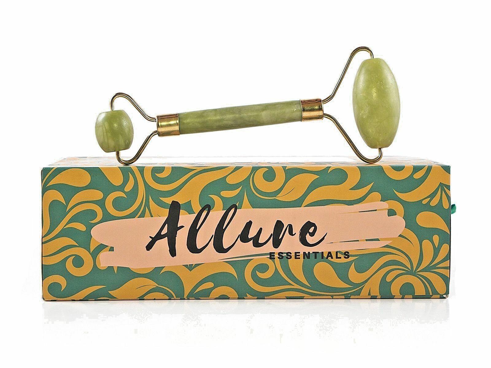 Premium Jade Roller Gua Sha Board Set - 100% Natural Real Jade Roller