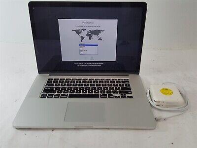 """Apple MacBook Pro A1398 i7-4850HQ 256GB SSD 16GB RAM 15.4"""" C02M7AS9FD57 Catalina"""