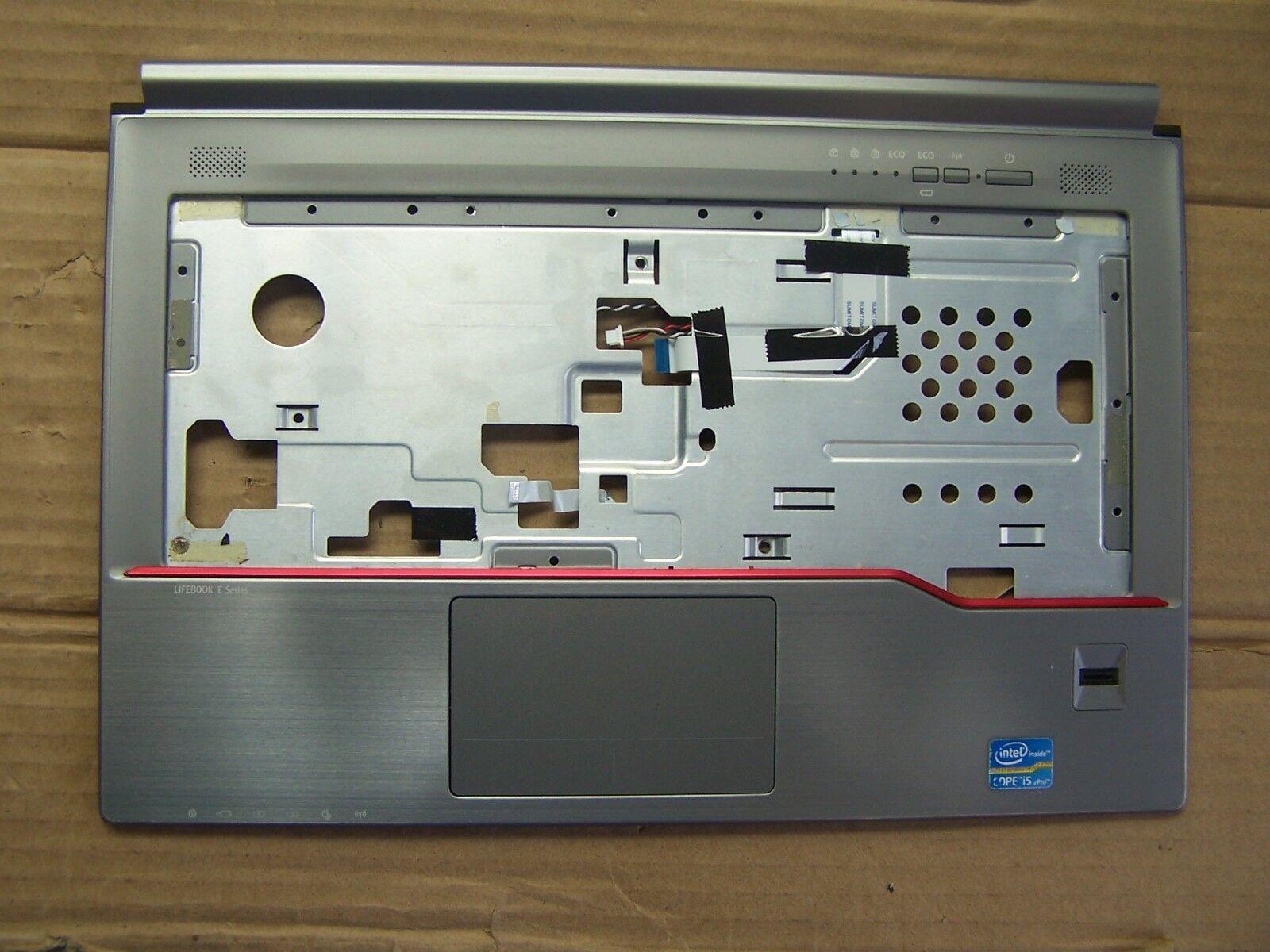 "palm rest  touch pad Fujitsu LifeBook E743 14"" Laptop palm rest"