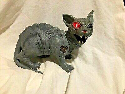 Animated Halloween Cat (Halloween prop MORBID ANIMATED FERAL CAT PROP. Scary cat sounds, animated..)