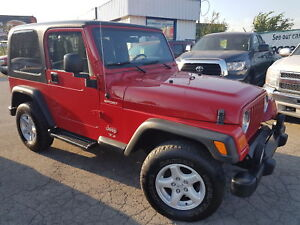 2006 Jeep TJ Sport,  SHARP LOOKER