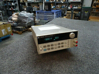 Agilent 6611c Low Noise Programmable Lab Power Supply 0-8v 0-5a Untested