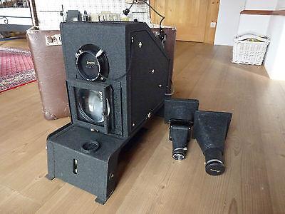 alter Diaprojektor / Megadiaskop Liesegang, mit orig. Aufbewahrungskoffer