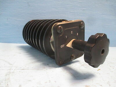 Electroswitch 24308nk 20a 600v 4 Position Selector Rotary Switch Series 24