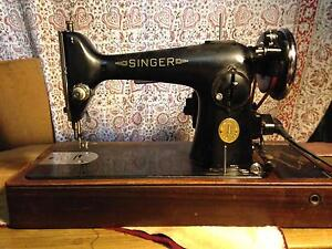Gorgeous antique singer 201k sewing machine Northcote Darebin Area Preview