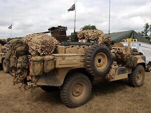 British Army Land Rover 110 SAS Special Air Service 7x5 Inch Reprint Photo