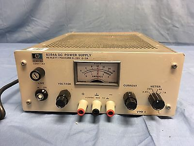 Hp Agilent 6284a Dc Power Supply 0-20v 0-3a Woption 040 Load Tested