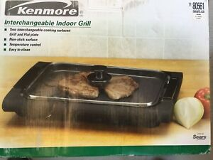 Kenmore Interchangeable Indoor Grill