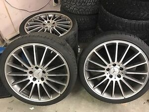 Wheels rims Mercedes C63 AMG with tires 19""