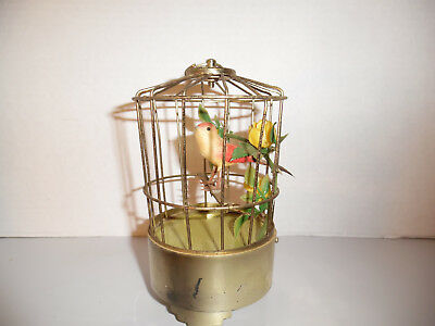 SINGING BIRD IN BIRDCAGE VINTAGE HONG KONG