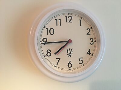 Vintage MERIT large hospital  Quartz wall clocks