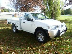 2011 MITSUBISHI TRITON GLX SINGLE C/CHASSIS, 4X4 2.5 L/T T/DIESEL Holbrook Greater Hume Area Preview