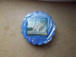 Yankee Candle USA Rare Blueberry Scone Wax Tart