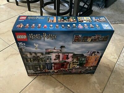 LEGO Harry Potter Diagon Alley-MODEL 75978-NEW SEALED- 5544 Pieces! FREE GIFT!