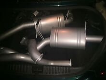"""Ford FG xr6 turbo xforce exhaust system 4"""" dump 3 1/2"""" catback new Ashtonfield Maitland Area Preview"""