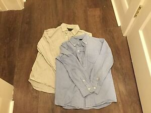 Boys Gap button up shirts size 8-10 $5 each