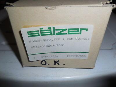 Sälzer Nockenschalter Cam Switch S212 - Cam Switch