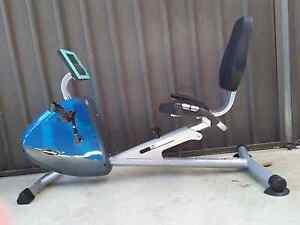 Recumbent exercise bike Golden Grove Tea Tree Gully Area Preview